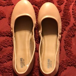 MOSSIMO light pink flats